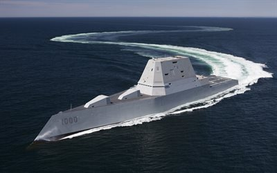 USS Zumwalt, DDG-1000, american warship invisible, US NAVY, Zumwalt class, guide missile destroyers, United States Navy