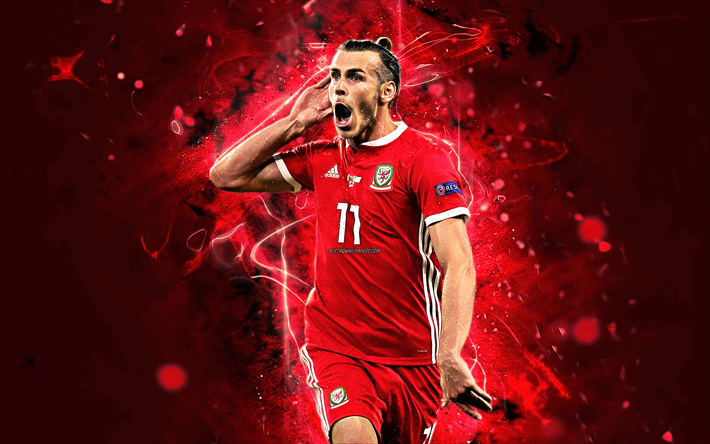 100% authentic 0ca70 4958b Download wallpapers Gareth Bale, goal, Wales National Team ...