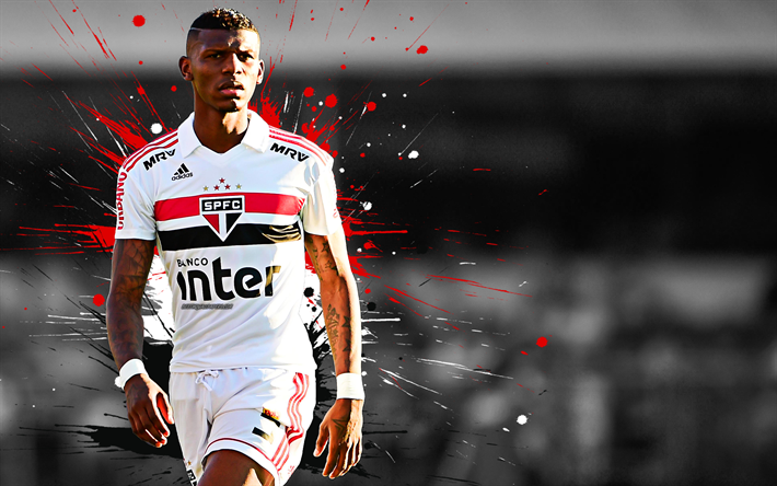 Download Wallpapers Bruno Alves, Sao Paulo FC, SPFC
