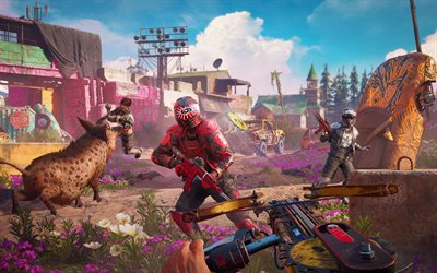 4k, Far Cry Aube Nouvelle, le gameplay, 2019 jeux, Far Cry