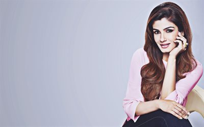 Raveena Tandon, 2019, Bollywood, indian actress, beauty, brunette woman, Raveena Tandon photoshoot