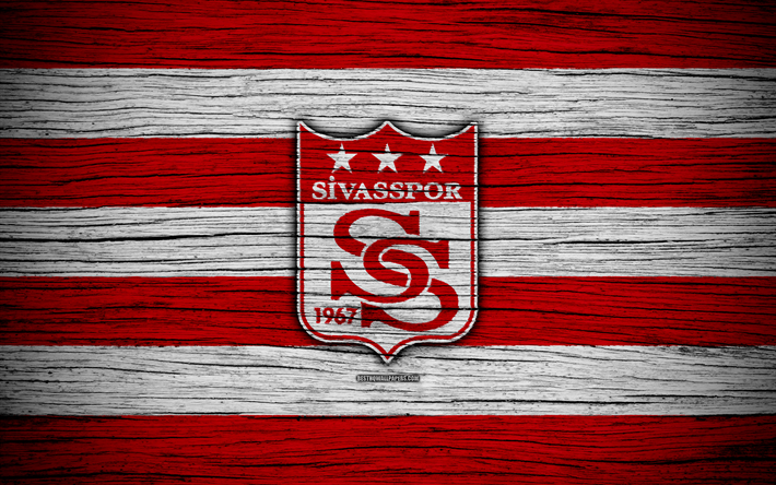 Download Wallpapers Sivasspor 4k Turkey Wooden Texture