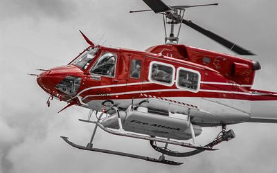 Bell 212, palo-helikopteri, Bell, siviili-ilmailun, Bell Helicopter