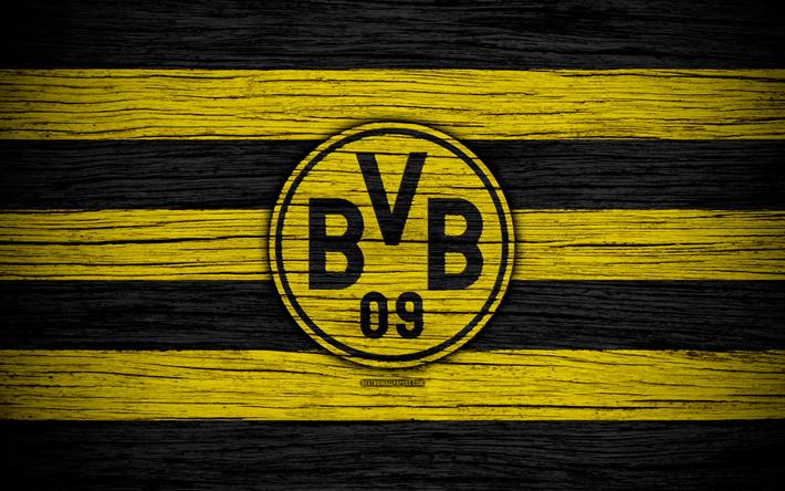 Download Wallpapers Borussia Dortmund 4k Bundesliga Bvb Logo Germany Wooden Texture Fc Borussia Dortmund Soccer Football Borussia Dortmund Fc For Desktop Free Pictures For Desktop Free