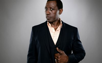 Wesley Snipes, american actor, portrait, black suit, photo shoot, hollywood