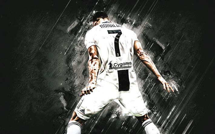 Download Wallpapers Cristiano Ronaldo, Portuguese Football