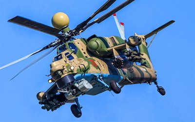 Mi-28, close-up, russian military helicopter, Havoc, Mil Mi-28, Russian Air Force, Mil Helicopters, Russian Army