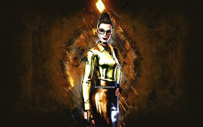 Fortnite Gold Foil Jennifer Walters fortnite Skin, Fortnite, main characters, gold stone background, Jennifer Walters, Fortnite skins, Jennifer Walters Skin, Jennifer Walters Fortnite, Fortnite characters