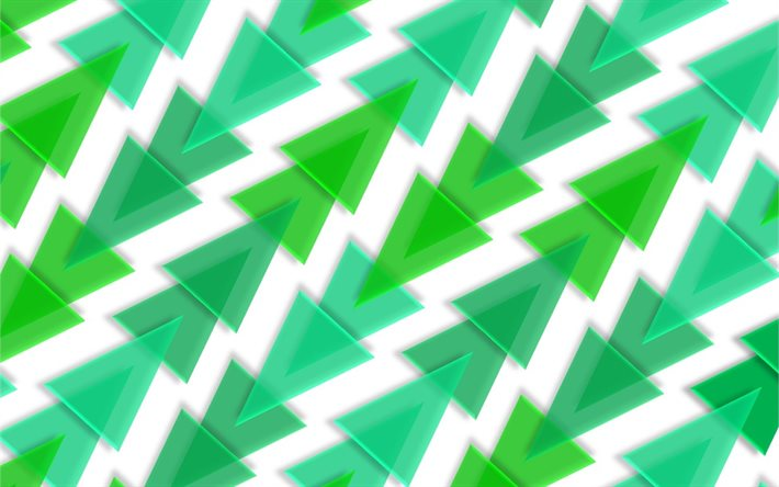 green abstraction background, green triangles background, glass triangles background, herringbone abstraction background, geometric abstraction