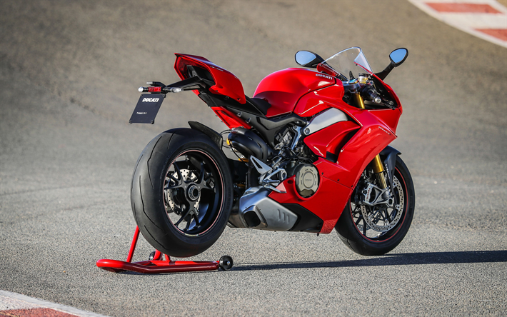 Download Wallpapers Ducati Panigale V4 Speciale, 4k