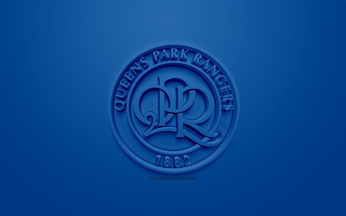 Download Wallpapers Queens Park Rangers FC, QPR, Creative