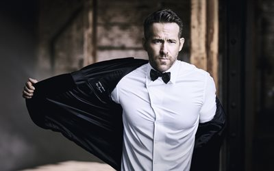 Ryan Reynolds, actor Canadiense, la estrella de Hollywood, sesión de fotos, Deadpool