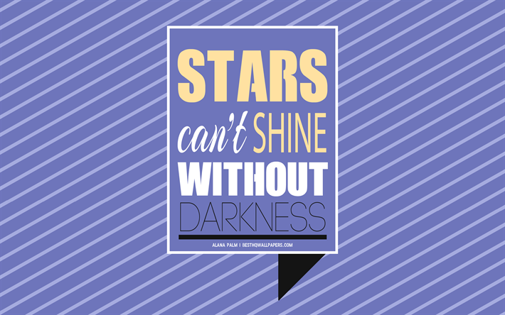 Download Wallpapers Stars Cant Shine Without Darkness Alana