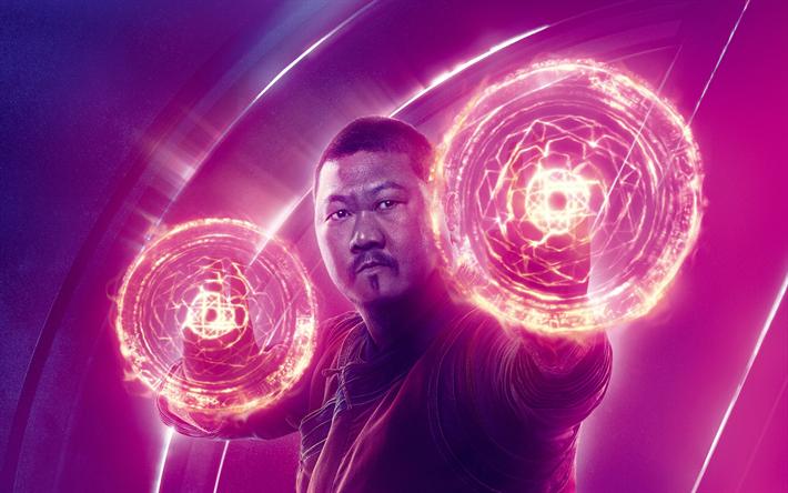 Scarica sfondi avengers infinity war 2018 benedict wong for Sfondi infinity