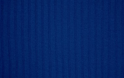 Blue knitted texture, blue fabric background, knitted background, fabric texture