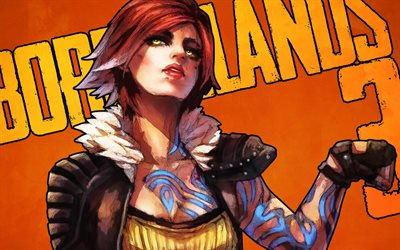 Lilith, Siren class, Borderlands 3, game character, art, main characters, Borderlands, Dionysus planet