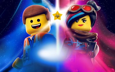 4k, The Lego Movie 2 The Second Part, poster, 2019 movie, artwork, 2019 The Lego Movie 2