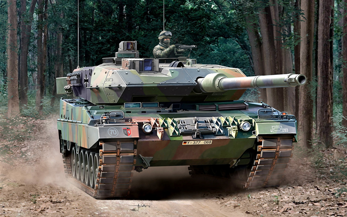 Leopard 2A6, Spanish main battle tank, moderno tanques, fuerzas armadas, Leopard 2, Germany, OTAN