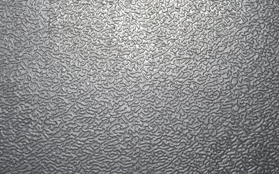 steel texture with ornament, silver metal background, metal texture, steel