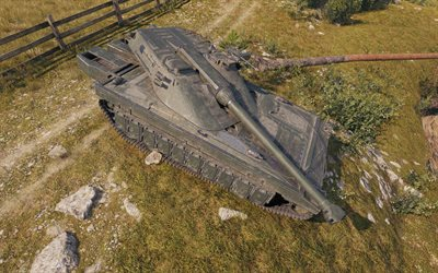 UDES 15, World of Tanks, Swedish tank, online tanks, popular games, tanks