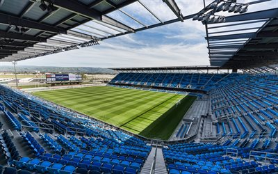 Avaya Stadium, Earthquakes Stadium, San Jose, California, United States, MLS, San Jose Earthquakes Stadium, Major League Soccer, USA, green soccer field