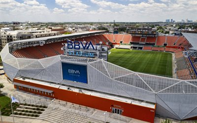 BBVA Compass Stadium, Houston Dynamo Stadium, football stadium, MLS, Houston, Texas, USA, Houston Dynamo, Major League Soccer, Houston Dash Stadium