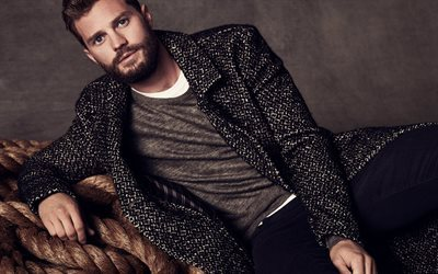 Jamie Dornan, British actor, portrait, Fifty Shades Darker