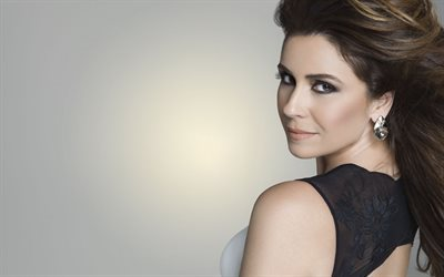 Giovanna Antonelli, Portrait, brazilian actress, model, make-up, beautiful woman
