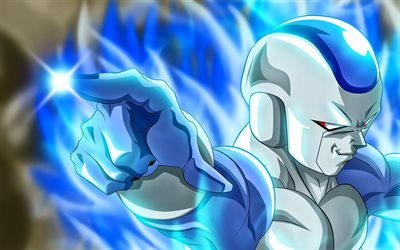 Frost, 4k, close-up, Dragon Ball, DBS, Furosuto, Dragon Ball Super, Frieza Race