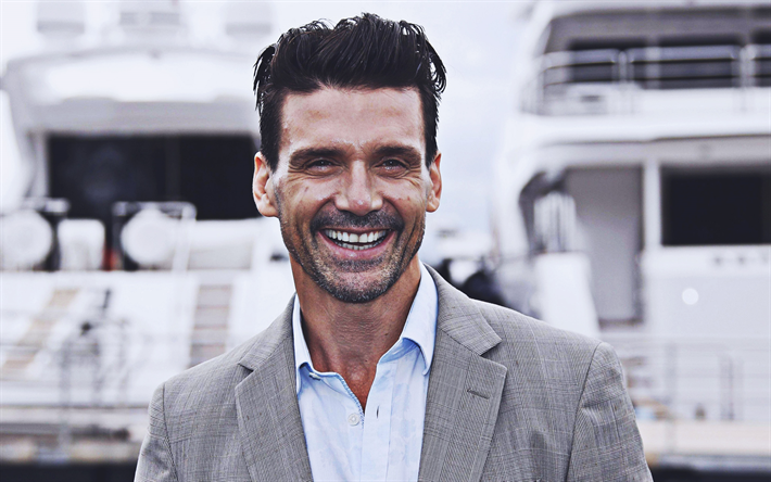 Frank Grillo, 2019, smile, american actor, movie stars, Hollywood, Frank Anthony Grillo, american celebrity, Frank Grillo photoshoot