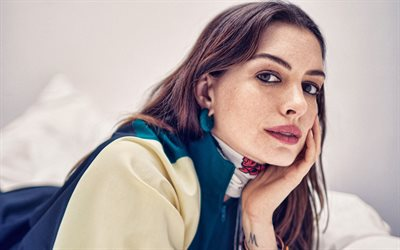 Anne Hathaway, portrait, american actress, photoshoot, popular actresses, american star