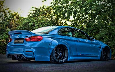 Manhart MH4 700 LW, tuning, 2020 cars, back view, F82, supercars, BMW M4, german cars, BMW, Manhart