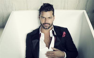 Ricky Martin, Puerto rican singer, photoshoot, famous singers