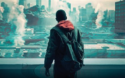 Captive State, 4k, poster, 2019 movie, Thriller, Captive State Movie