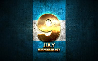 Argentina Independence Day, July 9, golden signs, Argentinean national holidays, Argentina Public Holidays, Argentine Declaration of Independence, Argentina, South America, Independence Day of Argentina