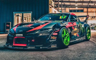 Fat Five Racing, tuning, Toyota GR Supra, 2019 cars, HDR, supercars, 2019 Toyota Supra, customized Supra, japanese cars, Toyota