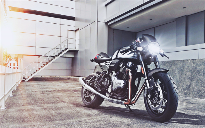 Norton Dominator, 2019 vélos, superbikes, la Triumph Speed Twin, bouchon, Norton