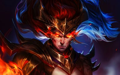 Yasuo, 4k, warriors, MOBA, League of Legends, artwork, Legends of Runeterra, Yasuo League of Legends