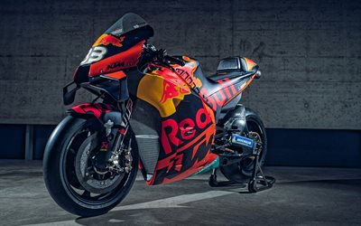 KTM RC16, 2020, MotoGP, racing motorcycle, front view, RC16, exterior, austrian sports motorbikes, KTM