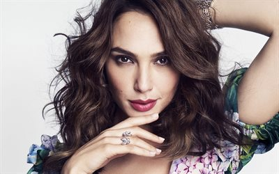 Gal Gadot, Marie Claire US, Hollywood, 2017, portrait, israeli actress, beauty