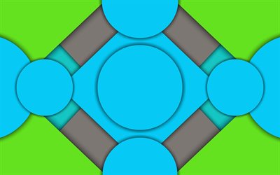 material design, polygons, circles, android, lollipop, lines, geometric shapes, creative, strips, geometry, colorful background