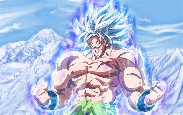Download Wallpapers Broly 4k Mountains Dragon Ball Dbs Dragon