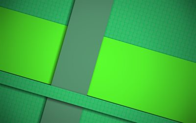 material design, green and gray, lines, geometric shapes, lollipop, geometry, abstract art, creative, strips, green backgrounds