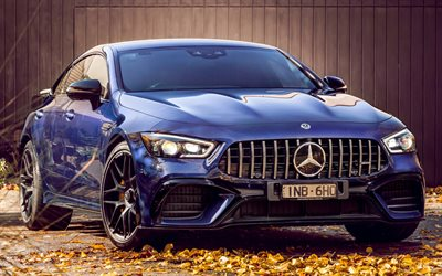 Mercedes-AMG GT 63 S, supercars, 2019 cars, autumn, german cars, 2019 Mercedes-AMG GT 63 S, Mercedes