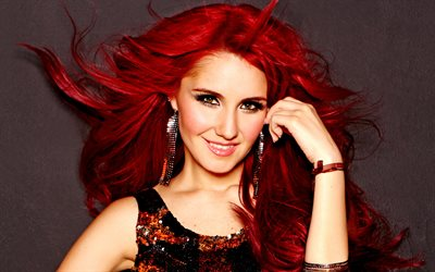 Dulce Maria, mexican singer, photoshoot, portrait, smile, mexican star