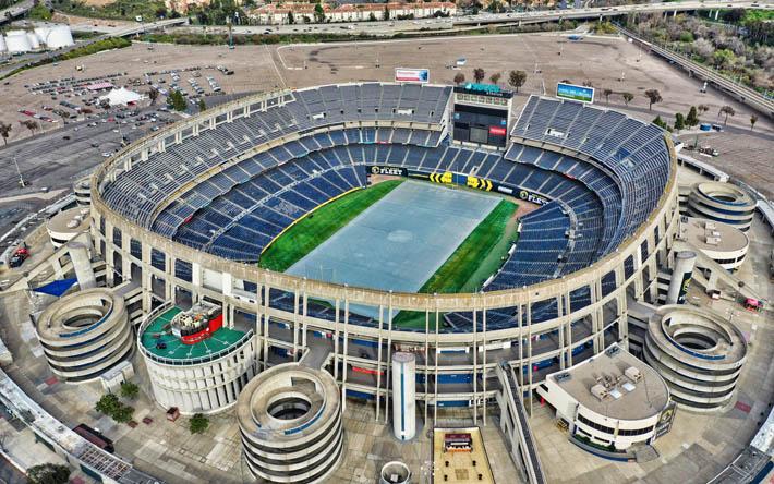 ダウンロード画像 SDCCUスタジアム, サンディエゴ, カリフォルニア州立 ...