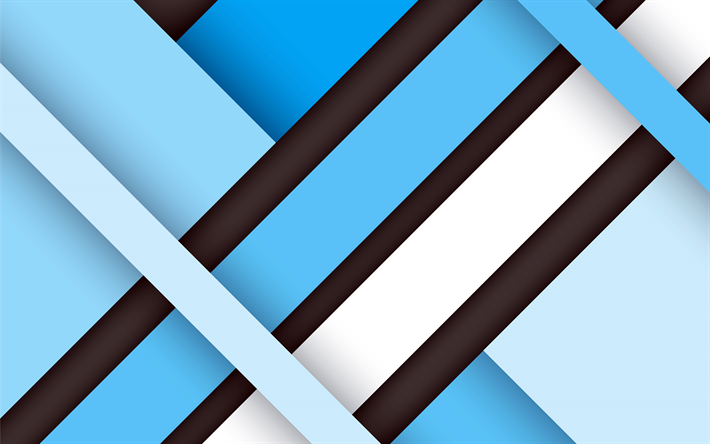 Descargar fondos de pantalla l neas 4k android fondo azul de la geometr a material - 18 by 9 wallpaper ...