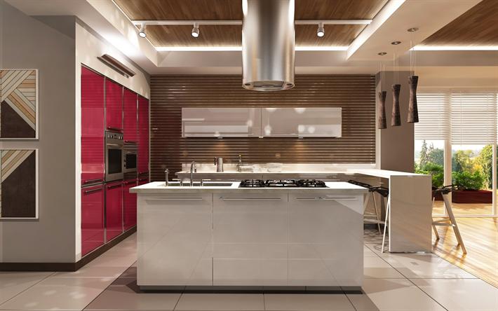 Descargar fondos de pantalla cocina moderna de diseño, el ...