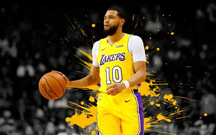 Tyler Ennis 4k Basketball Players NBA Los Angeles Lakers Grunge
