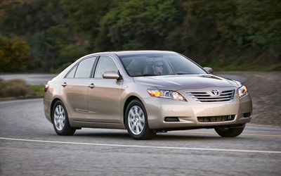 Toyota Camry Hybrid, road, 2009 cars, Camry 40, japanese cars, 2009 Toyota Camry, ToyotaToyota Camry Hybrid, Toyota